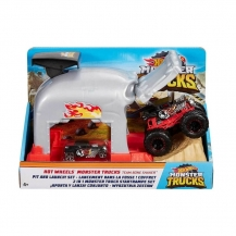 GKY01 Fırlatıcılı Oyun Seti Monster Trucks /HW Monster Trucks