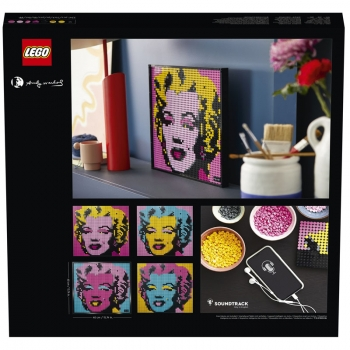 Lego  Art  31197  Andy Warhol un Marilyn Monroe Tablosu  3341 pcs