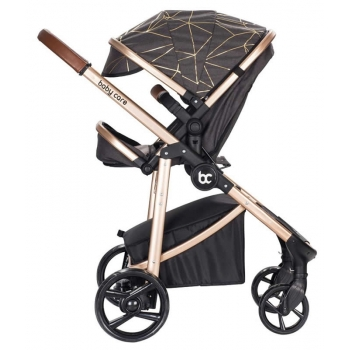 Baby Care BC-30 Titan Trio Travel Sistem Bebek Arabası Gold Hardal