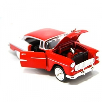 Motormax 1955 Chevy Bel Air  1:24 Model Araba MM-73212AC
