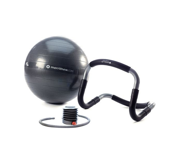 Merrithew Health & Fitness Halo Trainer with Stability Ball Combo  (ST-02209)