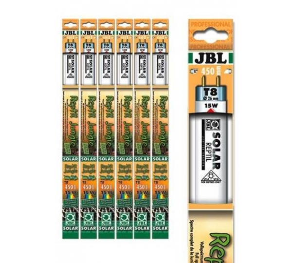 JBL SOLAR REPTIL JUNGLE T8 18W-590 MM 9000K