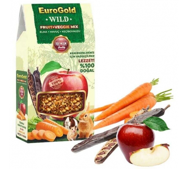EuroGold Wild Fruit +Veggie Mix  120 gr