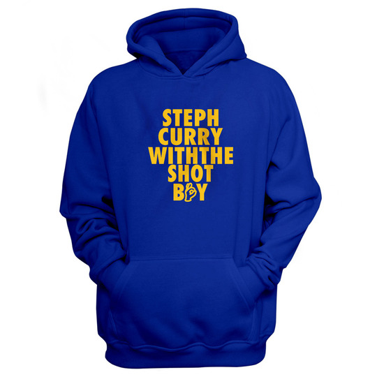 Golden State Steph Curry Hoodie (Blue)