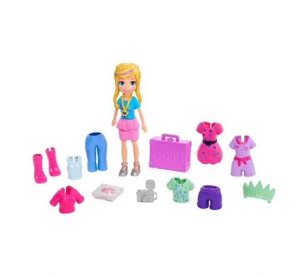 Polly Pocket Seyahatte Oyun Seti GFT92